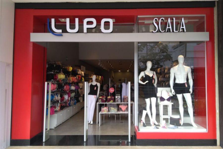 fachada loja Lupo Scala