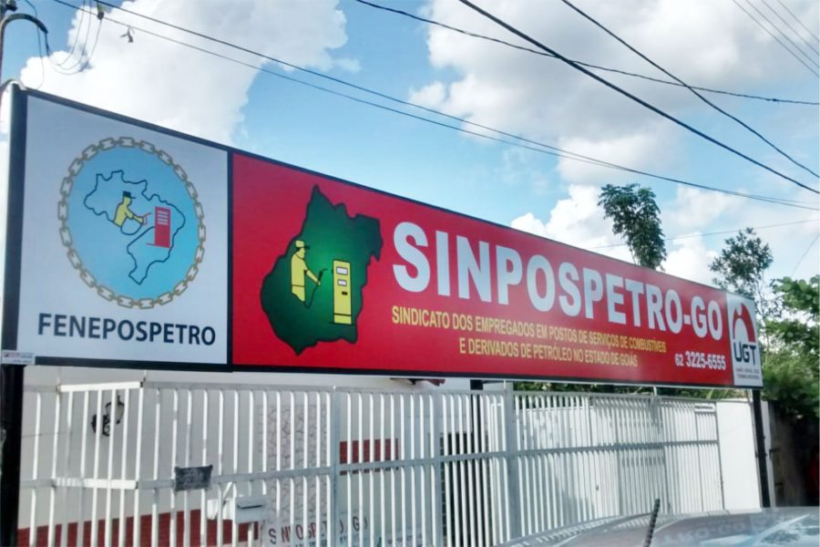 Painel LONA sinpospetro