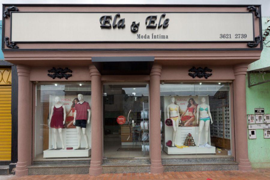 fachada loja de roupas