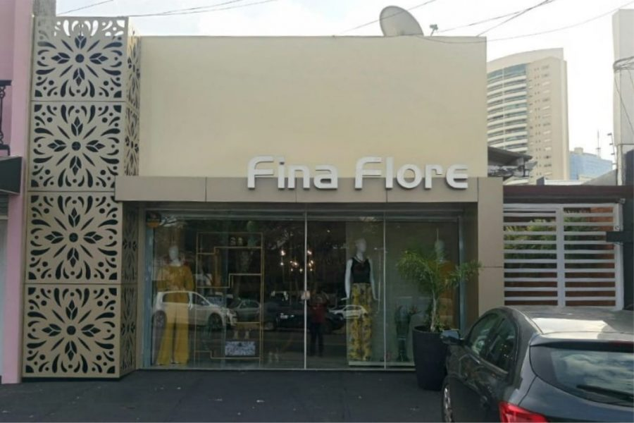 Fachada loja de roupa