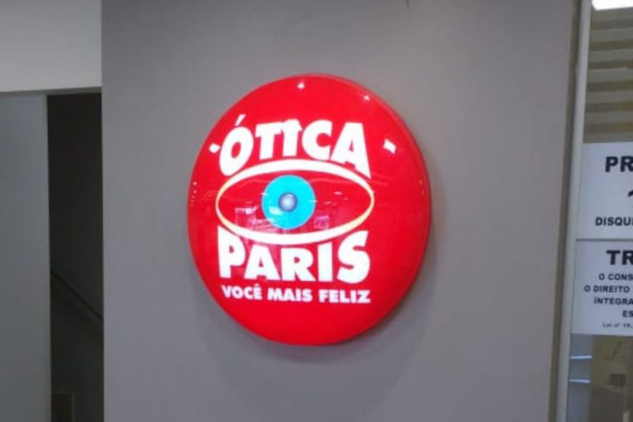 5cd0fa902d5be Luminoso Acrílico tipo Bolha Luminoso Acrílico tipo Bolha - Ótica Paris